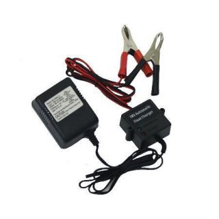 12V Battery Float Charger Storage Lawn mower John Deere Cub Cadet Toro