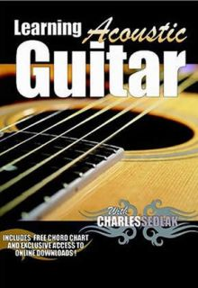 Learn How To Play Acoustic Guitar lessons For Beginners DVD + FREE USA