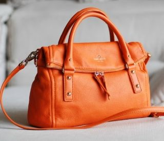 Authentic Kate Spade Cobble Hill Leslie Leather Satchel Little Minka