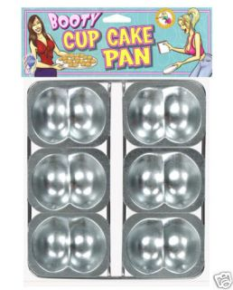 Butt Cheek Cup Cake Pan Birthday Bachelor Bachelorette