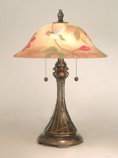 Antique Bronze San 22 5 Tropical Table Lamp with 2 Lights