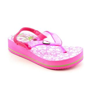 Hello Kitty Lil Hula Youth Kids Girls Size 5 Pink Flip Flops Sandals