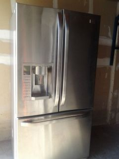 French Door Stainless Steel LG Refrigerator