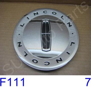 Lincoln Town Car Chrome Hub Cap Center Cap New Factory F111 3Z Qty 1