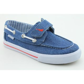 Nautica Little River Youth Kids Boys Size 6 Blue Fabric Boat Shoes