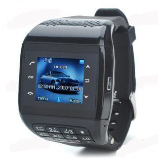 Wrist Watch Cell Phone Mobile Unlocked GSM Touch Screen Keypad  4