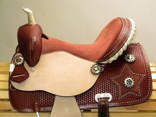 15 Texas Star Show Western Barrel Racer with Lone Star Conchos