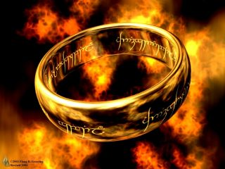 Lord of The Rings Edible Image Cake Topper Personalized 1 4 Sheet
