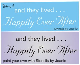 Happily Ever After Wedding Love Story Book Fairy Tale Signs