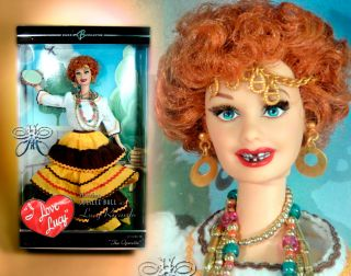 The Operetta Lucy Lucille Ball Barbie Friend Doll