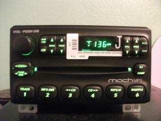 Ford Mustang Mach Factory Am FM CD  Player Radio 01 02 03 04 2R3T