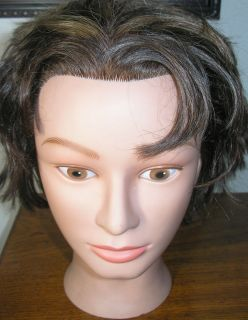 Marianna Miss Suzie Kin Cosmotology Mannequin Head Human Hair No 14901