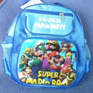 New Super Mario Bros KidSschool Bag Backpacks Very Cute Lovely Small