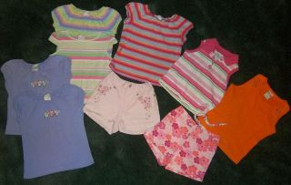 4T Circo Shirts Shorts Tank Top Mix Match Clothes Spring Summer