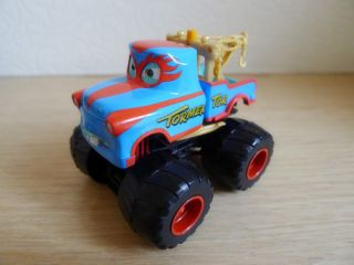 Mattel Disney Pixar Car Toon The Tormentor Mater Monster Truck Loose