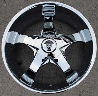 Von Max VM04 22 Chrome Rims Wheels Ford Ranger 22 x 9 5 5H 15
