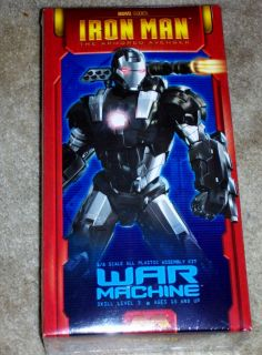 Moebius Marvel Studios Iron Man War Machine Suit Model Kit 1 8
