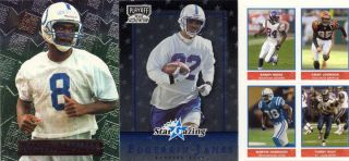 COLTS CARDS MARVIN HARRISON RC EDGERRIN JAMES RC QUAD Sticker MOSS