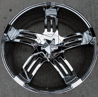 SA918 22 Chrome Rims Wheels Mazda CX7 CX9 22 x 9 5 5H 30