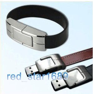 Geniune Wrist Band Bracelet USB Memory Stick Flash Pen Drive