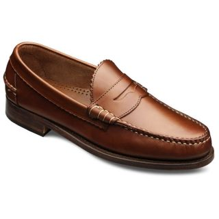 Allen Edmonds Mens Kenwood Tan Saddle Shoe 44000
