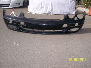 00 01 02 03 04 05 06 Mercedes Benz CL 500 Class Front Bumper w Washer
