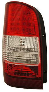 Mercedes Benz Vito Van 98 04 Clear Red LED Tail Lights Lamps