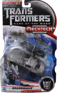 Transformers DOTM Deluxe MERCEDES BENZ SLS AMG Soundwave Decepticon