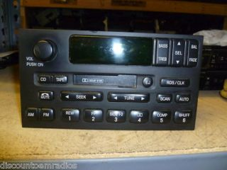 99 02 Mercury Villager Nissan Quest Cassette Player XF5F 18C870 Ad