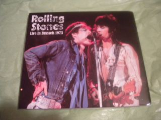 in Brussels 1973 CD RARE 1st Show Mick Taylor Keith Richards