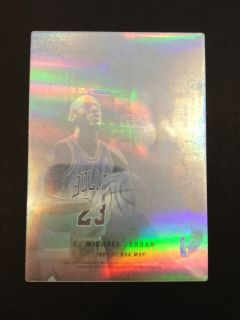 1992 93 UD McDonalds Michael Jordan Hologram Chicago Bulls