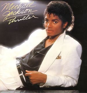 Michael Jackson Thriller 1982 UK Vinyl LP Excellent Condition Record