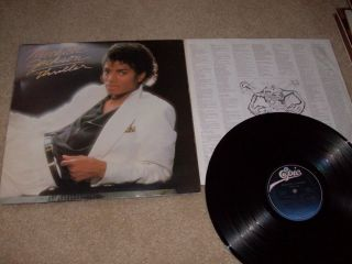 Michael Jackson Thriller Vinyl Record Album