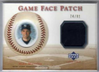 2003 Upper Deck Game Face Mike Mussina SP Patch 74 81