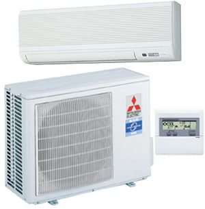Mitsubishi Mini Split 9000 BTU 21 SEER Air Conditioner