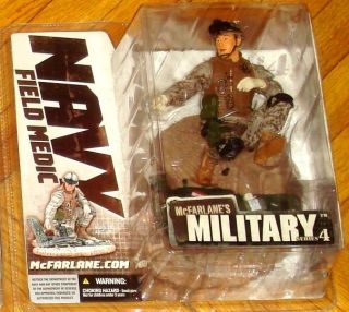 McFarlane Military Series 4 Navy Field Medic