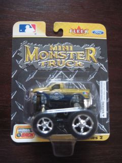 Milwaukee Brewers Fleer Collectibles Ford Mini Monster Truck