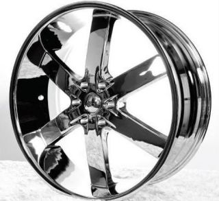 26 Wheels Rims Package FREE TIRES U2 55 CHROME ESCALADE TAHOE YUKON