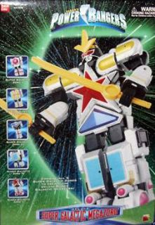 Power Rangers Lost Galaxy   Super Zeo Galactic Megazord   5 Zords