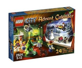 Lego City 2824 Advent Calendar 2010