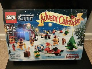 LEGO City Advent Calendar 2012 4428 Sealed Set Toy Minifigures New
