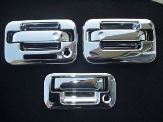 04 13 Ford F150 Chrome door handle Tailgate covers 3k
