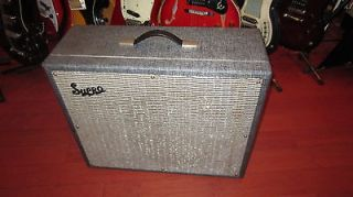 Vintage 1964 Supro Thunderbolt Amplifier Real Deal Jimmy Page Guitar