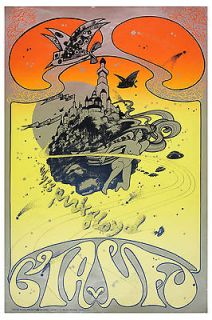 Classic Rock Pink Floyd * Psychedelic * Concert Poster Circa 1967
