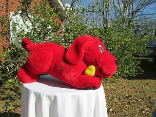 CLIFFORD THE BIG RED DOG   2 FEET LONG   LARGE GIANT CLIFFORD DOG