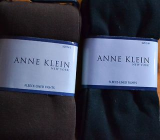 Anne Klein Fleece Lined Tights Warm Soft Comfortable Opaque Great 4