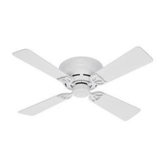 Hunter 42 in White Ceiling Fan 23866