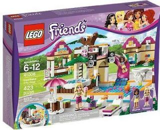 LEGO FRIENDS/HEARTL AKE CITY POOL/AGES 6 12/423 PIECES/ JUST RELEASED