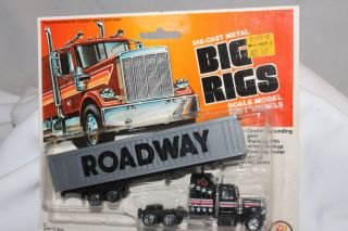 Zee Toys Big Rigs, USA Roadway Semi Truck, Mint on Card