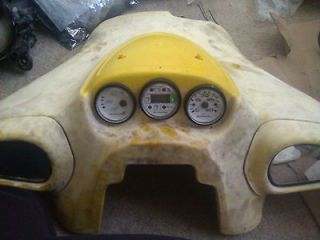 ski doo xp gauges
